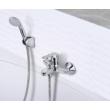 MOFÉM Pro kádtöltő csaptelep zuhanyszettel