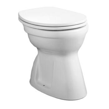 ALFÖLDI Bázis WC, lapos, alsó, Easyplus