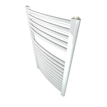SANICA íves törölközőszárítós radiátor - 600×1000