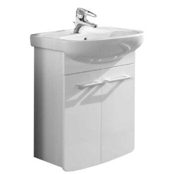 ALFÖLDI Saval 2.0 mosdószekrény mosdóval, Easyplus (fehér)