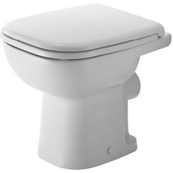 DURAVIT D-Code álló WC, mélyöblítésű, hátsó kifolyású