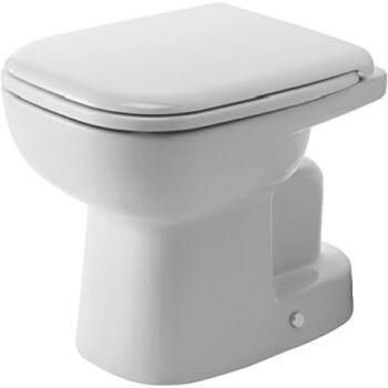 DURAVIT D-Code álló WC, mélyöblítésű, alsó kifolyású