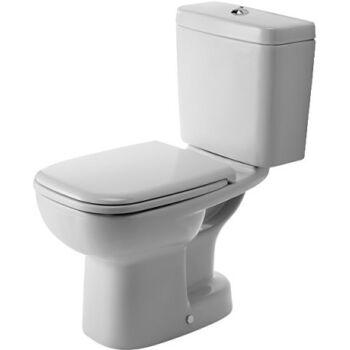 DURAVIT D-Code monoblokk WC, mélyöblítésű, alsó kifolyású