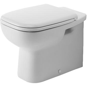 DURAVIT D-Code fal előtt álló WC, mélyöblítésű, hátsó kifolyású