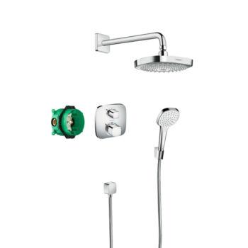 HANSGROHE Croma Select E design zuhanyszett