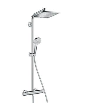 HANSGROHE Crometta E 240 1jet Showerpipe termosztátos csapteleppel