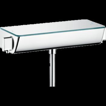 HANSGROHE Ecostat Select termosztátos zuhanycsaptelep falsíkon kívüli szereléshez, felújításhoz