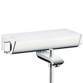 HANSGROHE Ecostat Select kádtermosztát falsíkon kívüli szereléshez, fehér/króm