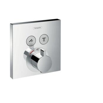 HANSGROHE ShowerSelect termosztát falsík alatti szereléshez 2 fogyasztóhoz