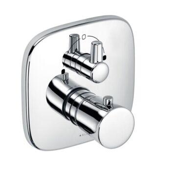 KLUDI Amba falsík alatti termosztátos kád/zuhanycsap