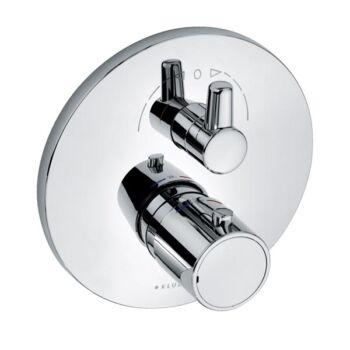 KLUDI O-Cean/Zenta falsík alatti termosztátos kád/zuhanycsap