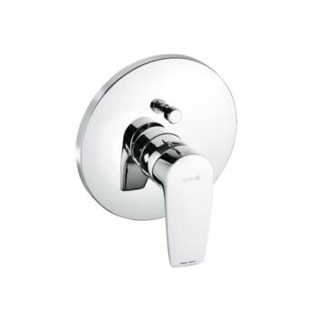 KLUDI Pure&Solid falsík alatti egykaros kád/zuhanycsap