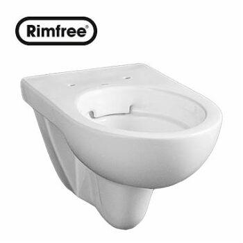 KOLO Nova Pro fali WC, mélyöblítésű, ovális, Rimfree