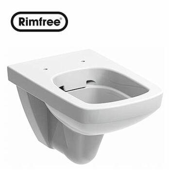 KOLO Nova Pro fali WC, mélyöblítésű, szögletes, Rimfree