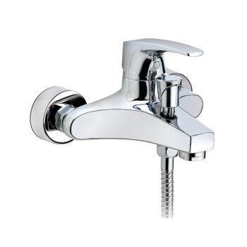 MOFÉM Flame kádtöltő csaptelep zuhanyszettel