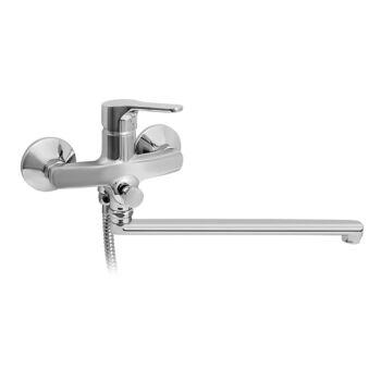 MOFÉM Pro fali kád-mosdó (KMT) csaptelep zuhanyszettel