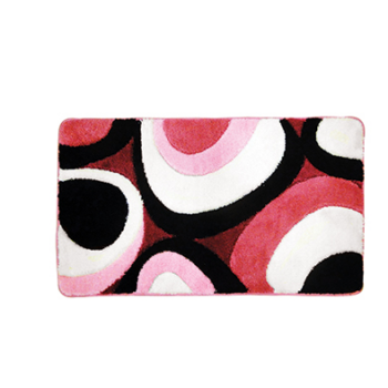 Fürdőszoba szőnyeg Deluxe Oval XL, 60×100, pink