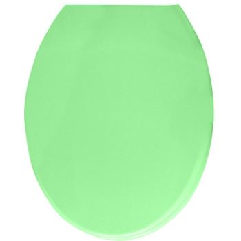 WC ülőke duroplast, smaragd, fém zsanérral