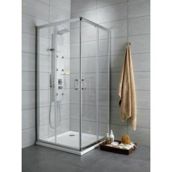 RADAWAY Premium Plus D szögletes zuhanykabin