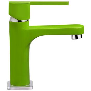 TEKA Aura mosdó csaptelep leeresztő szeleppel, zöld