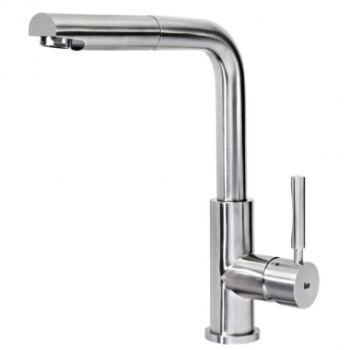 TEKA INX 938 mosogató csaptelep felső kifolyócsővel, kihúzható zuhanyfejjel