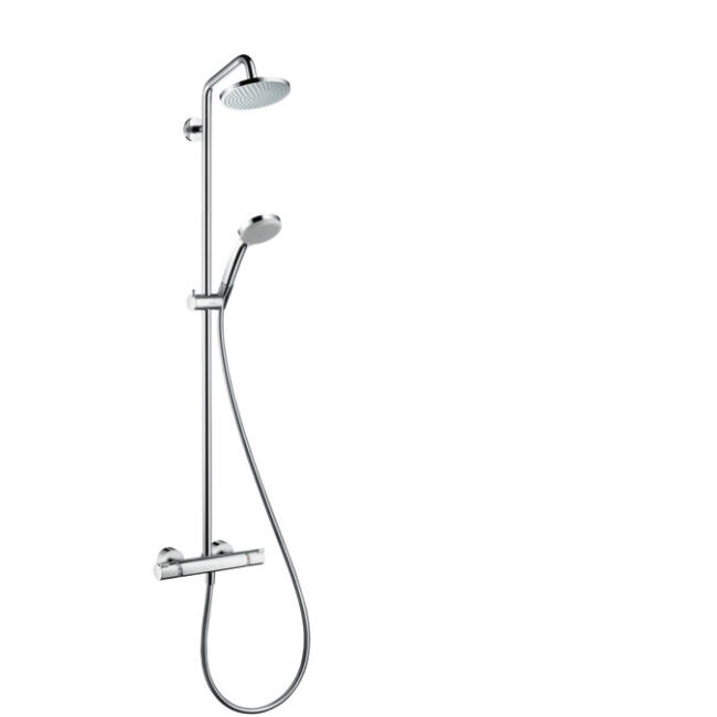 HANSGROHE Croma Showerpipe 1jet termosztáttal