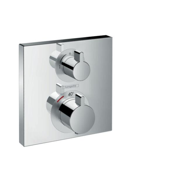 HANSGROHE Ecostat Square falsík alatti termosztátos csaptelep 2 fogyasztóhoz