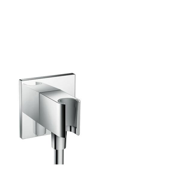 HANSGROHE Fixfit Square beépített zuhanytartóval