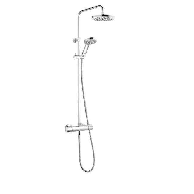 KLUDI A-QA s Thermostat Dual Shower System