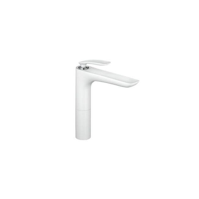 KLUDI Balance egykaros mosdócsap mosdótálhoz, fehér/króm