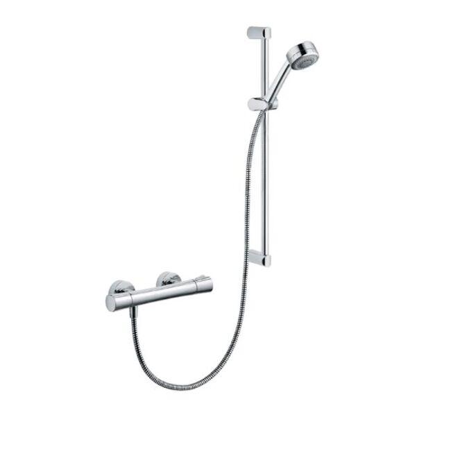 KLUDI Zenta Shower Duo termosztátos zuhanycsaptelep, 60 cm
