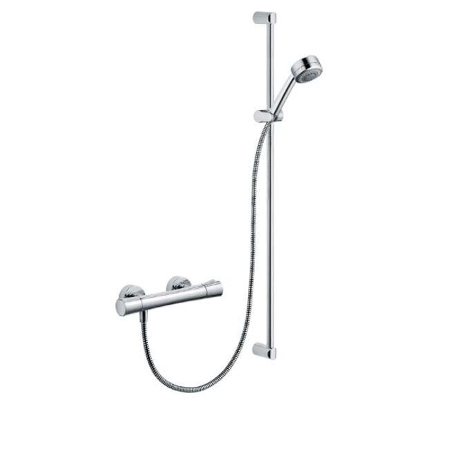 KLUDI Zenta Shower Duo termosztátos zuhanycsaptelep, 90 cm