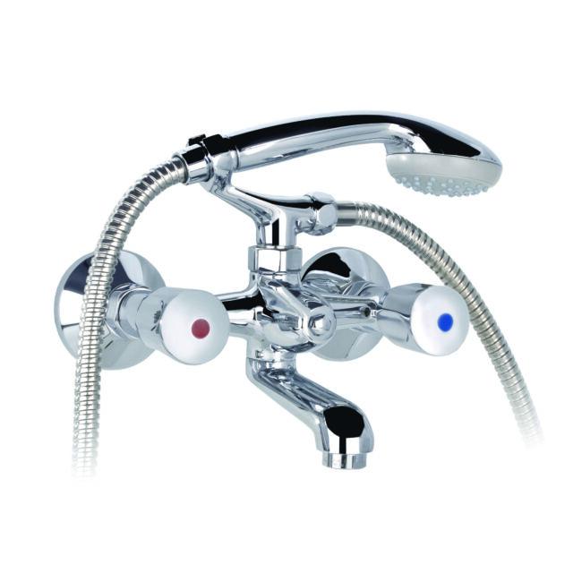 MOFÉM Eurosztár kádtöltő csaptelep zuhanyszettel