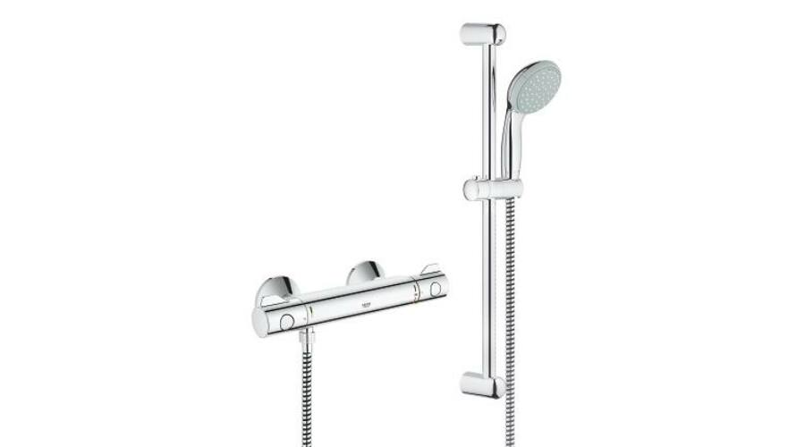 grohe grohtherm 800 termoszt tos zuhanycsaptelep zuhanyszettel grohe. Black Bedroom Furniture Sets. Home Design Ideas
